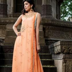 Beautiful shimmer Full length kurti