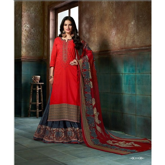 BEATIFUL  STITCHED READY MADE GARARA  SUIT